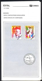 Brasil-1993-18 - Compositores Brasileiros