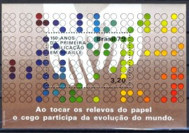 Brasil - 1979 - MINT -Braille