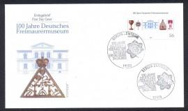 Alemanha - 2002-100 Anos do Museu Maçônico
