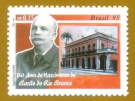 Brasil - 1995 -  Barão do Rio Branco - Novo