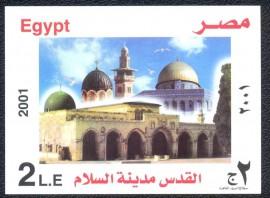 Egito -2001 - MINT -  Jerusalém