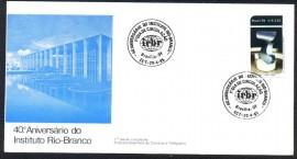 Brasil -  40 Aniversário do Instituto Rio Branco