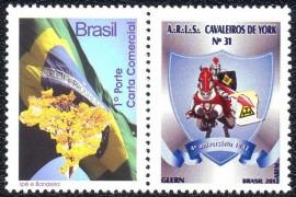 Brasil -2012-MINT-4º Aniversário de Fundação -Cavaleiros de York-RN.