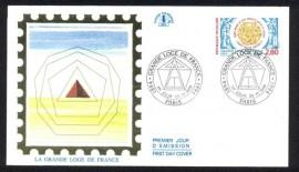 França -  1994 - Centenário Grande Loja da França.