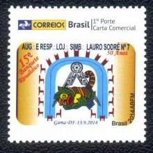 68A-Brasil - 15º Banque  Ritualístico Lauro Sodré - Nova Logo