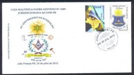 Brasil -2012 - 85 Anos da Loja Padre Azevedo-  CD 24.7.2014 -  João Pessoa - PB