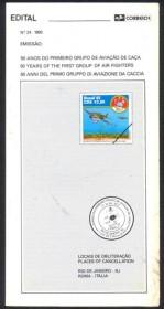 Brasil-1993-24 - 50 Anos 1º Grupo de Aviação de Caça