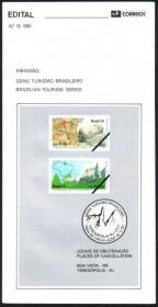 Brasil-1991-15- Turismo Brasileiro