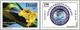 mint-190 ANOS DO GRANDE ORIENTE DO BRASIL