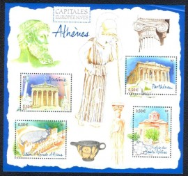 França - 2004- MINT- Capitais Europeias - Atenas