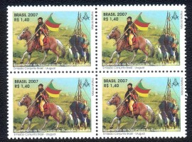 Brasil - Garibaldi-Bicentenário do Nascimento