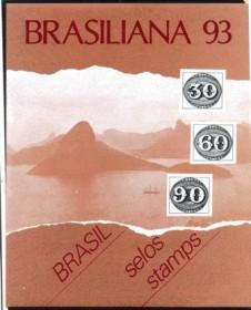 1993-MINT - Àlbum Brasiliana 93 - Perfeito Estado de Conservação