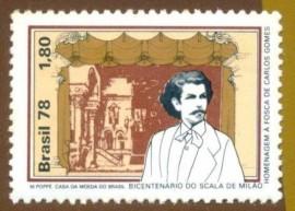 Brasil - Carlos Gomes - 1978 -Novo