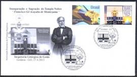 Brasil - Palácio Mário Behrig -Sagração do  Templo de Montezuma -CBC 25.4.2013-Goiânia-GO
