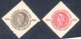 Brasil -MINT-2 selos -   Carlos Gomes