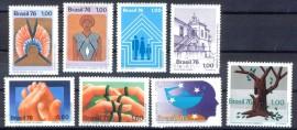 Brasil - 1976 -MINT  -8 Val.