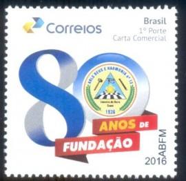 Brasil-80 Anos de Loja Deus e Harmonia Nº13 - CE