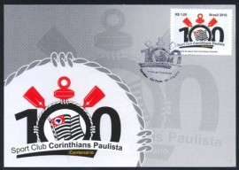 Brasil-2010 - MINT - Centenáriodo Spot Club Corinthians Paulista