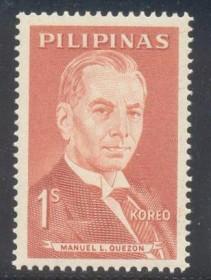 Filipinas -  Manoel Quezon