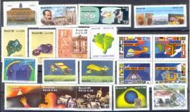 Brasil - 1989 - MINT-20 Vals.