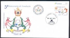 Brasil - 5º Aniv. de Fundação do Cap. Mutirão Social Nº775 da Ordem DeMolay.