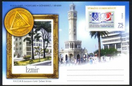 Turquia - 100 Anos da Grande Loja - IZMIR