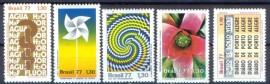 Brasil - 1977 -MINT - 5 Val.