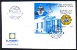 Uruguai - Grande Loja Maçônico do Urugui- 147 Anos