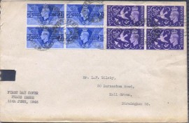 Grã-Bretanha - 1946 -FDC - Selo Rei Jorge VI