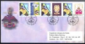 FDC  Comemorativo aos 181 anos do Supremo Coonselho REAA, 50 anos da GLEMA e VIII MOFILMA- Mostra Filatelica Maçônica-ABFM - São Luis - MA