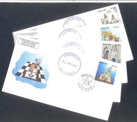 4 Envelopes-Escada de Jacó-Colunas-Instrumentos de Trabalgo-Trabalhando a PB