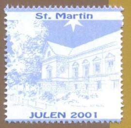 Dinamarca, CINDERELA - - Natal da Dinamarca 2001 -  Loja Maçônica St. Martin Randersqui...MINT
