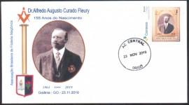 Brasil- 155 Anos do Nascimento de Alfredo Curado Fleury