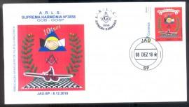 Brasil - 10º Aniv. da Loja Suprema Harmonia Nº 3858-Jaú-SP