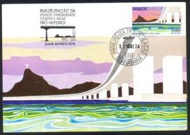 1974-MINT-Ponte Pres. Costa E Silva - Rio-Niterói