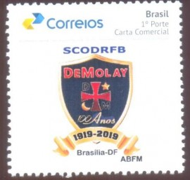 Brasil - ORDEM DEMOLAY - 100 ANOS