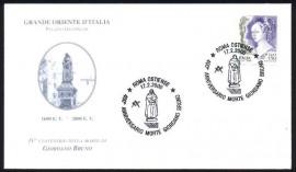 Italia- Giordano Bruno-400º Anniversario Morte