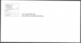 Brasil - Brapex 91- VIII Exposição Filatélica Nacional