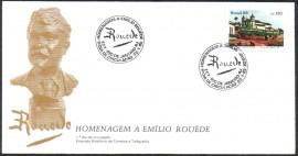 Brasil-1985 - Homenagem a Emílio Houède - CBC Rio de Janeiro.