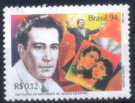 Brasil-1994-MINT- Vicente Celestino