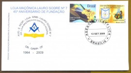 Brasil - 45 Anos da L.M.Lauro Sodré - CD: 13.9.2009 -Brasília-DF