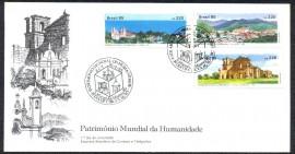Brasil - 1985 - Patrimônios Mundial da Humanidade - CBC S. Miguel das Missões-RS