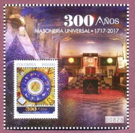 COLÔMBIA -  MAÇONARIA 300 ANOS