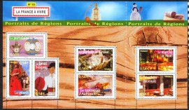 França -2007- MINT - Costumes Regionais.
