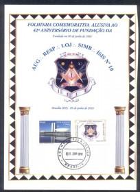 Tamanho:15.00 x 21.00 cm. - Selo Personalizado - Congresso Nacional -  Carimbo DAtador