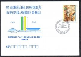 Brasil- 2001 -CBC Brasília-DF