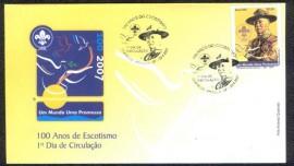 Brasil - 2007 -FDC -  CBC Brasília-  Baden Powell