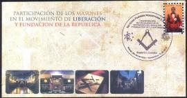 Participação da Maçonaria  no Movimento da Libertação e Fundação da República da Colômbia.