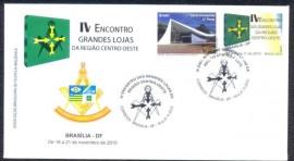 Brasil- 2010- IV ENCONTRO GRANDES LOJAS-REGIÃO CENTRO-OESTE. CBC Brasília-18 a 21.11.2010 - Igrejinha