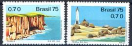 Brasil - 1975 -MINT- Torres e Pedra do Sal